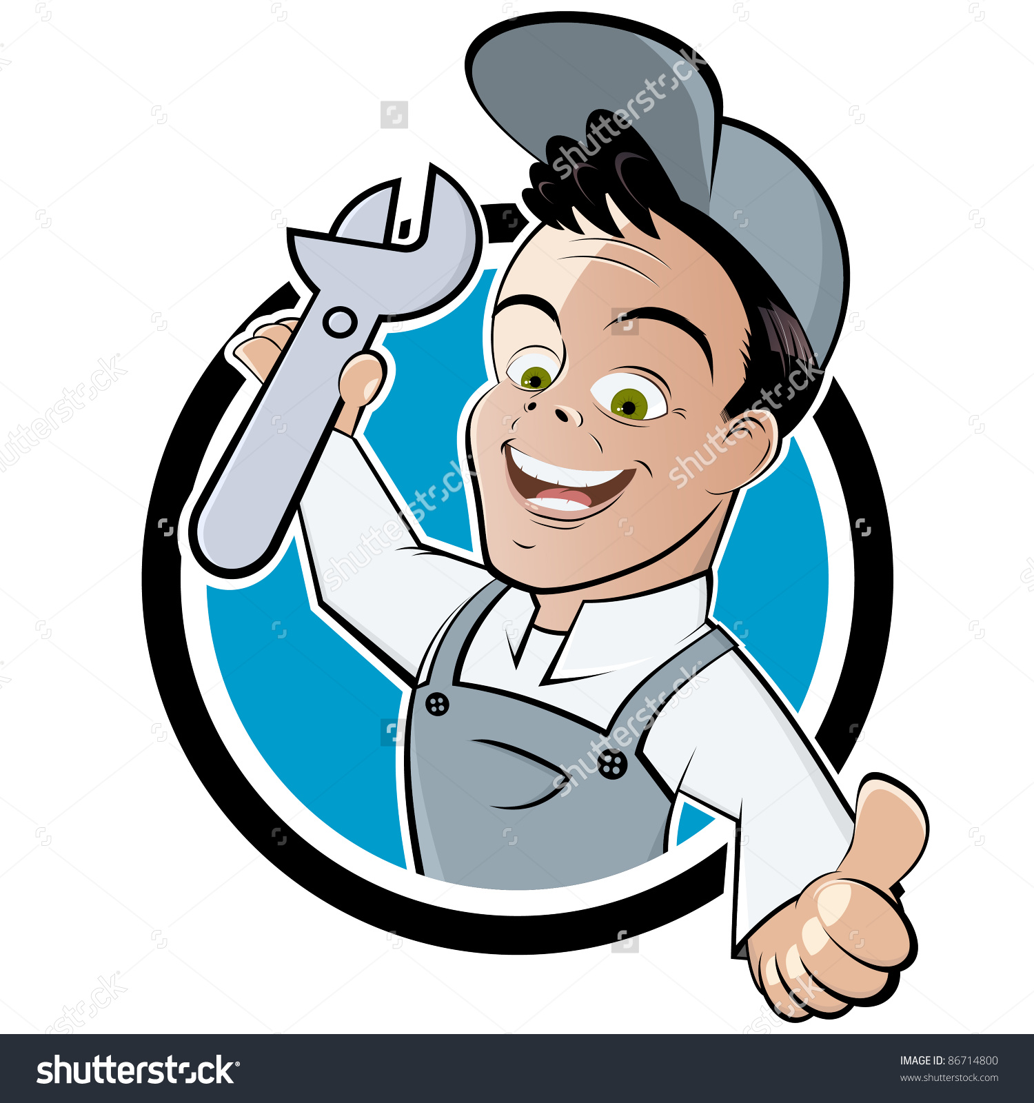 Fixing Hemet CA cartoon image