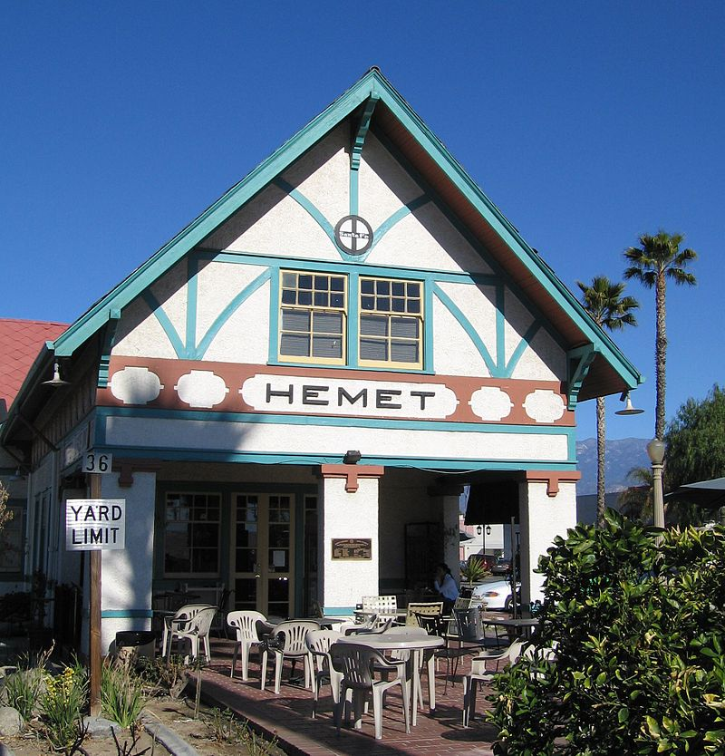 Hemet CA Santa Fe Museum image