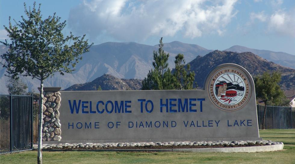 Welcome to Hemet Ca image