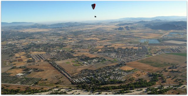 San Jacinto Valley from above image