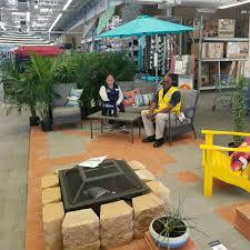 San Jacinto Walmart lounging image in garden center