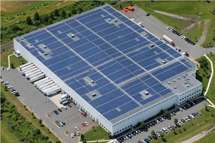 Warehouse Roof Solar image