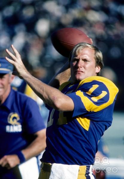 Pat Haden 1976-1981 LA Rams image